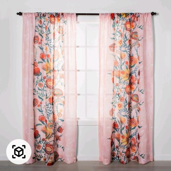Light Filtering Curtain Set Of Two Opalhouse
